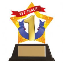 1st Place Mini-Star Acrylic Award